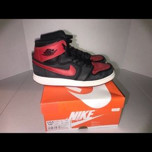 Used Air Jordan 1 Bred K.O.